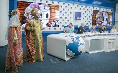В Москве состоялась пресс-конференция, посвященная предстоящему фестивалю славянского искусства.